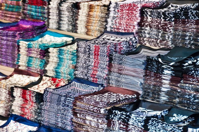 Large collection of cloth