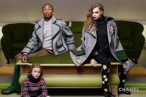 Cara & Pharrell star in Chanel's pre-AW15 Campaign